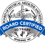 abpmr certified badge 20 3 - Joint and Spine Doctors Dallas Fort Worth