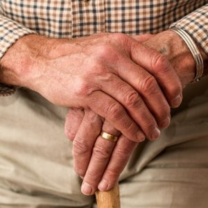 senior adult with cane 1 300x300 - Joint and Spine Doctors Dallas Fort Worth
